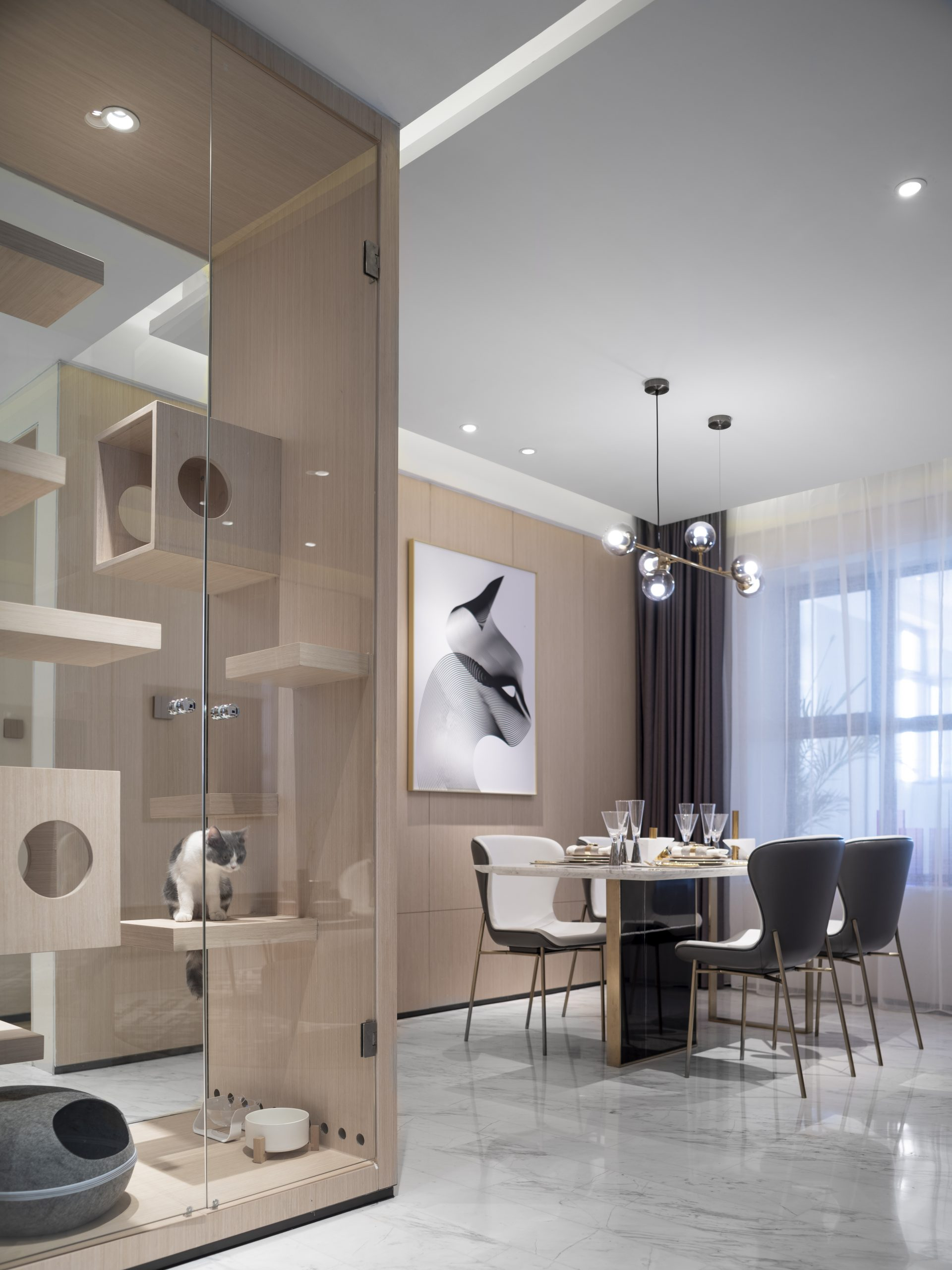 Fantasia Model Room in Tianjin 花样年天津样板间